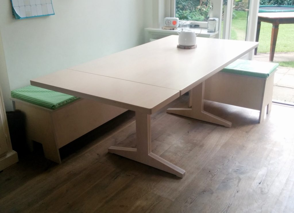 Tafel op maat wageningen for Uittrekbare tafel